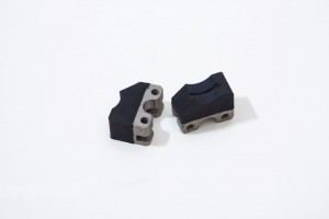 Rubber to metal bonded mechanical product